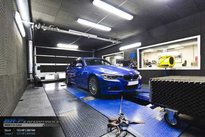 BMW Serie 3 F3x 320d stage 1 - BR-Performance - Motor