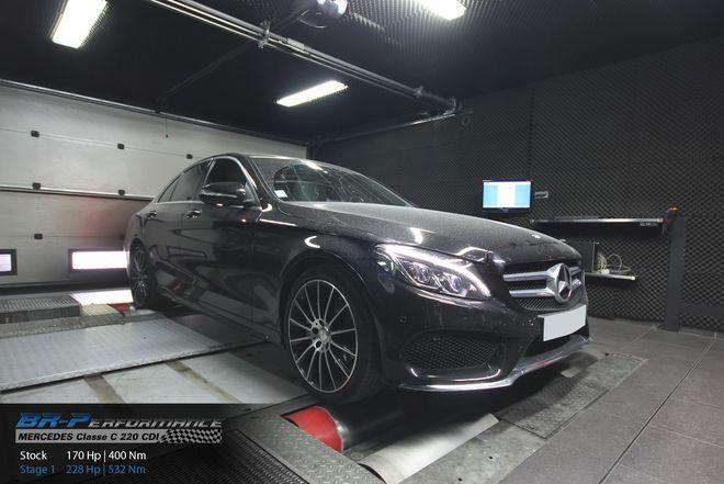 Mercedes C W205 220 CDI stage 1 - BR-Performance - Motor optimisation