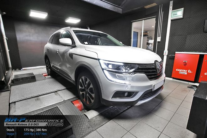 renault koleos 2 0 dci stage 1 br performance motor. Black Bedroom Furniture Sets. Home Design Ideas