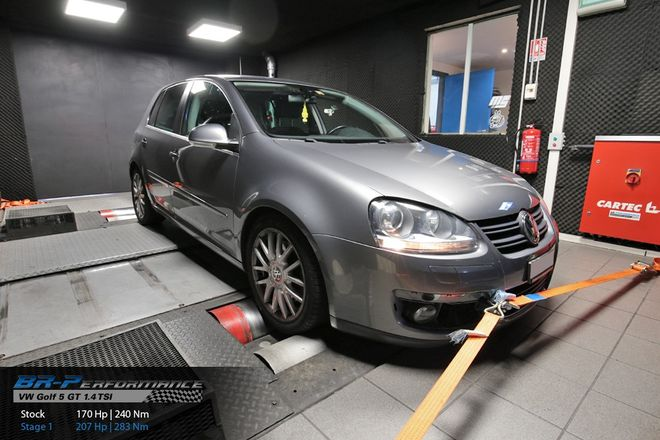 Volkswagen Golf Golf V 1 4 TSi GT stage 1 - BR-Performance
