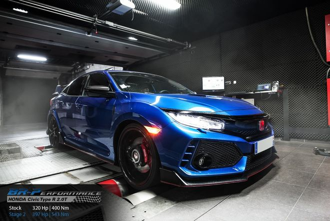 Honda Civic 10th 2 0T Type R stage 2 - BR-Performance - Motor
