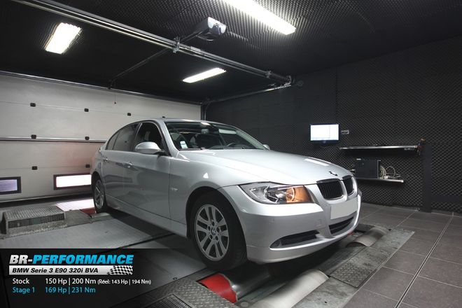 BMW Serie 3 E9x 320i stage 1 - BR-Performance - Motor