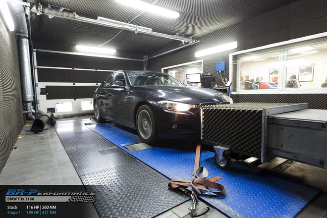 chiptuning, individual remap engine on dyno