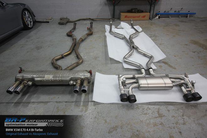 BMW X5 M E70 4 4 Turbo stage 1 - BR-Performance - Motor