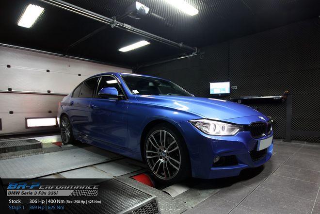 BMW Serie 3 F3x 335i stage 1 - BR-Performance - Motor