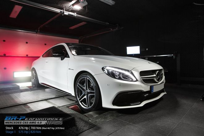 Mercedes C W205 63 AMG 4 0 stage 1 - BR-Performance - Motor