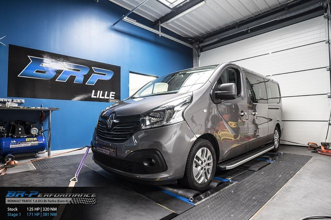 renault trafic 1 6 dci bi-turbo  euro 6  stage 1 - br-performance